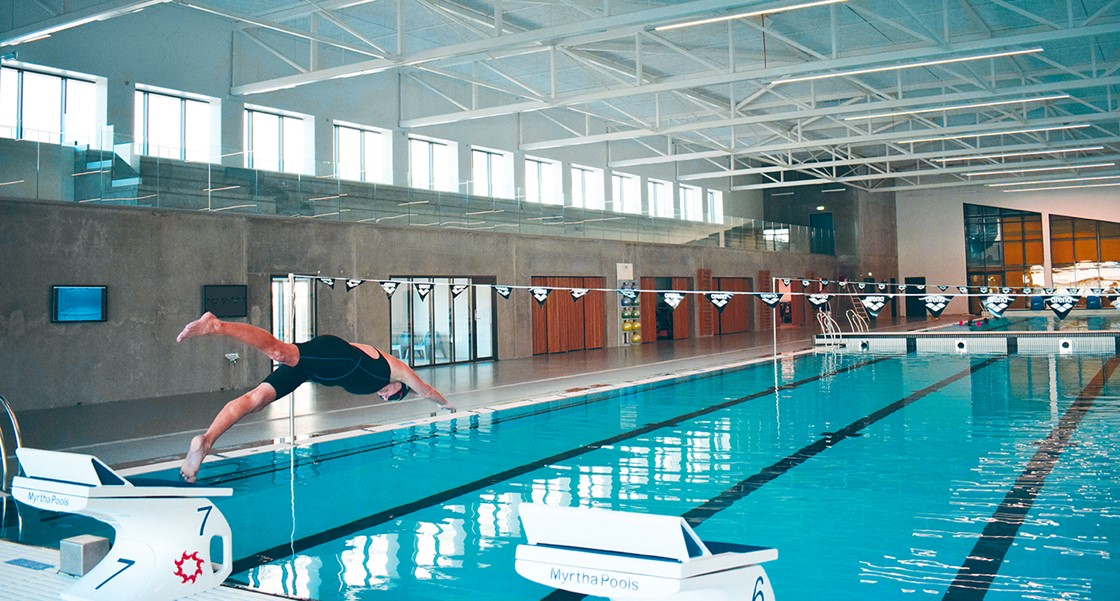 DGI-Huset Vejle - Træningssted for svømmelinjen på Vejle Idrætsefterskole