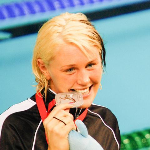 Vies svømning Jeanette Ottesen